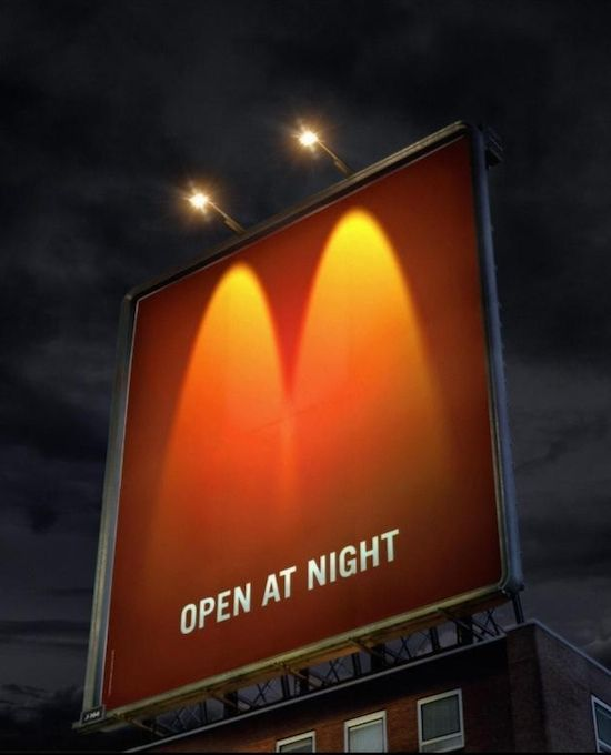 McDonalds advertentie