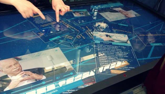 Touchscreen table