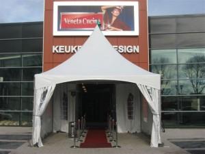 Bedrijf opening tent
