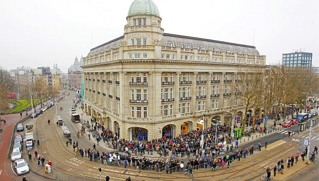 Voorbeeld grote opening Hirschgebouw Amsterdam