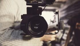 Videocamera, lens