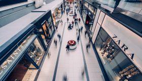 een winkelcentrum waarvoor je winkelcentra promotie kan inzetten