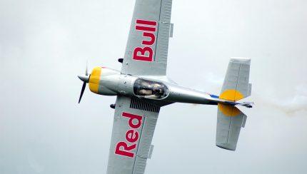 Red Bull vliegtuig brandmanagement