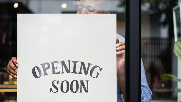 nieuwe winkel openen