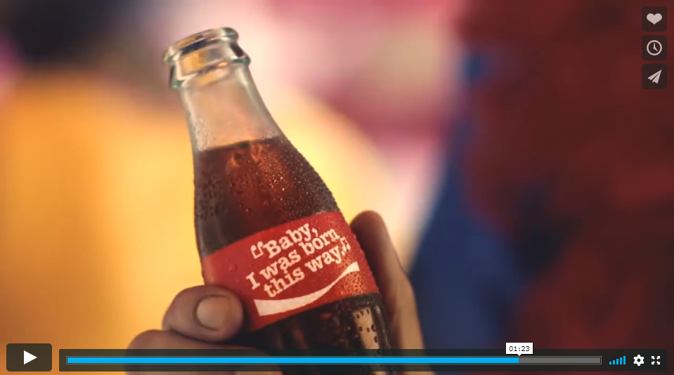Coca Cola campagne op Tiktok