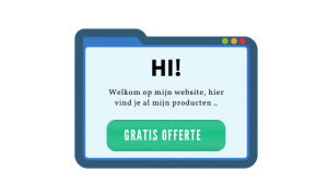 CTA-button op de website
