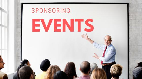 Sponsoring op events