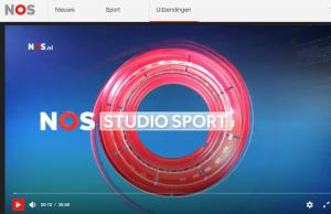 Audio van NOS studio sport