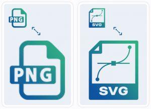PNG en SVG